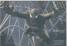 Spiderman 3 The Movie Black Spiderman Chase Card B6