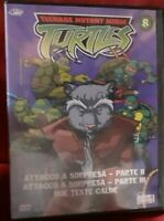 1 DVD TMNT CARTOON TEENAGE MUTANT TARTARUGHE NINJA TURTLES NEW SERIES 2005 vol.8