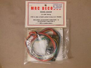MRC Decoder For G amd Other Large Scale DC Trains