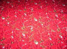Red Garden D#13273  Cotton Fabric (2 yards)