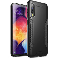 Samsung Galaxy A50 Case,Poetic【Slim Fit】Black Soft TPU Shockproof Cover