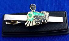 Train Locomotive Tie Clip
