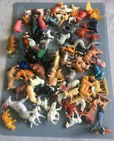 Lot divers petits animaux peints ou à  peindre