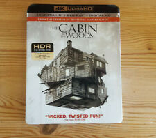 The Cabin in the Woods 4K UHD, Blu-ray,  Great Condition + Slip Case