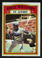 1972 TOPPS Baseball Billy Williams In Action #440 - Chicago Cubs Legend. Ex