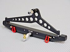 Traxxas TRX-4 Upgrade Rear METAL BUMPER W/ HITCH + Swing Arm Aluminum W/ LED