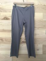 "Sigrid Olsen Women's 6 Petite Gray Stretch Ankle Pants 24"" Inseam"