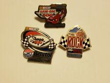Lot of (3) Vintage NASCAR Pins 2002, 2006, 1995