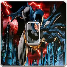 Batman DC Comics Marvel Light Switch Vinyl Sticker Decal for Kids Bedroom #337