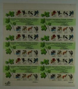 US SCOTT 1757 PANE OF 48 CANADIAN PHILATELIC EXHIBITION STAMPS 13 CENT FACE MNH.