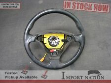 ALFA ROMEO 916 GTV USED 3 SPOKE STEERING WHEEL - BLACK LEATHER - SPIDER 03