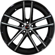 4 GWG Wheels 18 inch Black Machined ZERO Rims fits BUICK REGAL GS LS 2000 - 2004
