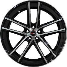 4 GWG Wheels 18 inch Black Machined ZERO Rims fits HONDA ODYSSEY 2005 - 2018