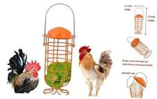 Chicken Foraging Coop Toys for Hens,Hanging Iron Feeding Treat Box,Parrot Bird