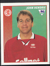 Merlin Football Sticker- 1997 Premier League - No 324 - Middlesbrough - Hendrie