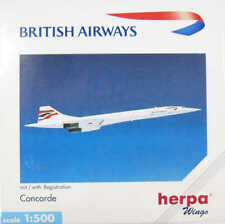 Concorde British Airways G-BOAF Herpa 507035 1:500