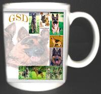 GSD / ALSATIAN DOG DESIGN COFFEE MUG. LIMITED EDITION