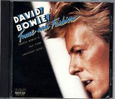DAVID BOWIE Fame & Fashion JAPAN 1st Press CD 1984 RPCD-104 3800yen