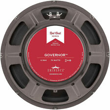 "Eminence THE GOVERNOR 12"" British Tone Guitar Speaker - 8 ohm - FREE SHIPPING!"