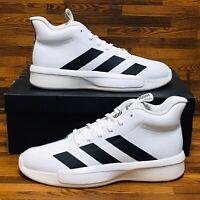 Adidas Pro Next 2019 (Men's Size 10) Athletic Sneakers Shoes Black White