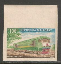Malagasy Republic #472 VF MNH IMPERF - 1972 100fr Diesel Locomotive