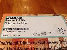 LIGHTOLIER Compose PLC CPLCILF20 Inline Filter / Philips Lytespan ATOM CPLCILF20