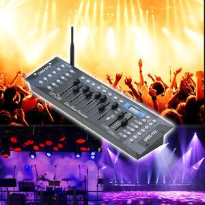 192 Kanäle DMX512 Controller Konsole für Bühnenlicht Disco Party Lichteffekt DHL