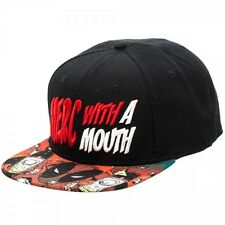 Marvel Deadpool Merc With A Mouth Snapback New BIOWORLD