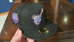 Exclusive Fitted Amethyst Collection San Diego Padres New Era 7 3/4 Cap Hat