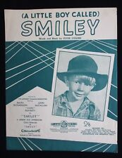 SMILEY 1956 Original Australian sheet music Chips Rafferty Charles Bud Tingwell