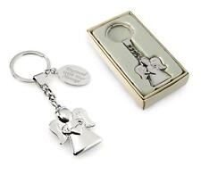 Personalised Beautiful Angel / Guardian Angel Keyring / Keychain - Engraved 4You
