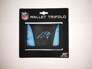 Carolina Panthers NFL Tri-Fold  Nylon Wallet