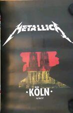 metallica vip poster  köln 14.09.2017