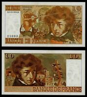 Currency 1974 Bank of France 10 Francs Banknote P# 150a Colorful Hector Berlioz