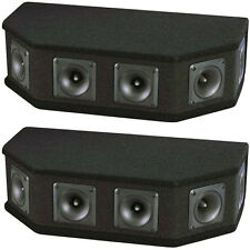 NEW (2) 6 Piezo DJ Tweeter Array Horn Cabinets.Pro Audio High Frequeny.Pair.PA