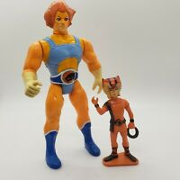 Vintage 1985 Thundercats Lion-O Wilykat Action Figure Lot EYES and Action Work