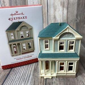 2013 Hallmark Keepsake Ornament #30 Nostalgic Houses & Shops - Stately Victorian