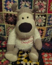 *BOOFLE knitted pup ~ Very Special Daughter*