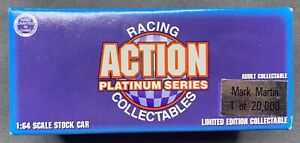ACTION PLATINUM SERIES RACING COLLECTABLES #2 MARK MARTIN 1 OF 20,000 1:64 SCALE