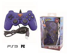 Joypad Controller SUPERMAN Playstation 3 - PC Analogico Doppia Vibrazione 90319