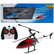 Remote Control Chopper Rechargeable Battery Operated 17 Inch Helicopter Green