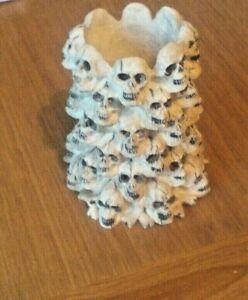 Skull trinket. pencil ,candle holder. Ashtray..Gothic