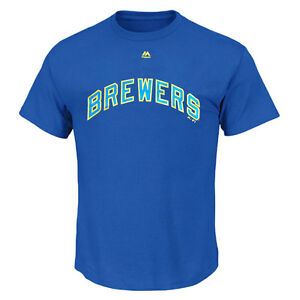 Milwaukee Brewers Cooperstown MLB T shirt