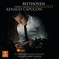 Rotterdam Philharmonic Orchestra - Beethoven Korngold Violin Concertos [CD]