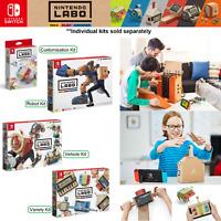 Nintendo Switch Labo Educational Game Variety Robot Vehicle Customisation Kits