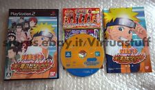 Naruto, Konoha Spirits, Playstation 2, PS2, NTSC, JAP, buone condizioni, good c.