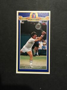 Tennis JIMMY CONNORS : Fosters Sporting Greats #8 1992 Cond EX - Nr Mint
