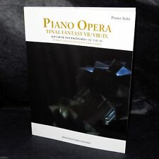 FINAL FANTASY OPERA MUSIC VII VIII IX GAME PIANO SCORE BOOK NEW