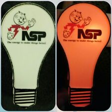 Vtg REDDY KILOWATT NSP Excel Energy Night Light Up Bulb Plug In FAST SHIPPING!