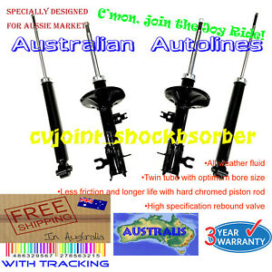 A Set of Holden Barina TK Front and Rear Shock Absorbers All Style 12/05-10/11